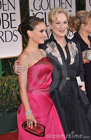 Natalie Portman, Meryl Streep Editorial Photo