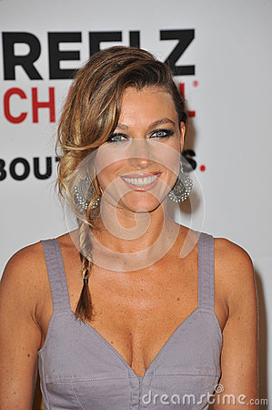 Natalie Zea Editorial Stock Image