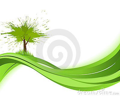 Natare background. Eco concept
