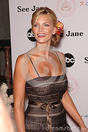 Natasha Henstridge Editorial Stock Photo