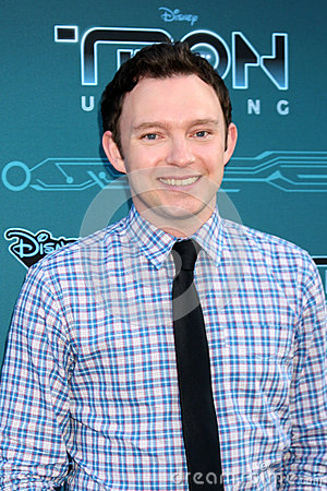 Nate Corddry arrives at the Disney XD s  Editorial Stock Image