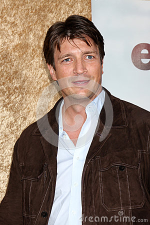 Nathan Fillion Editorial Stock Photo
