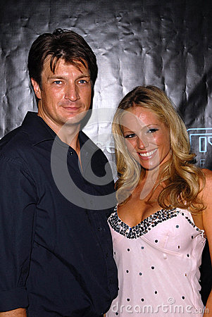 Nathan Fillion Editorial Stock Image