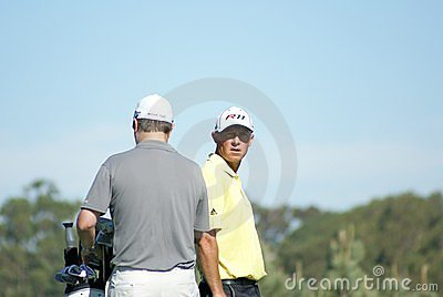 Nathan Green Golfer 2011 Farmers Insurance Open Editorial Image