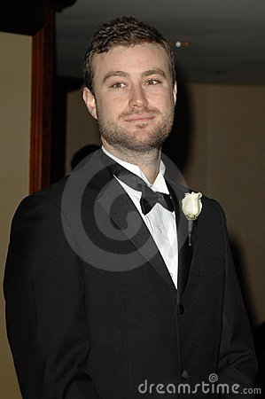 Nathan Levine-Heaney at the 23rd Annual American Society of Cinematographers Outstanding Achievement Awards. Century Plaza Hotel, Editorial Stock Image