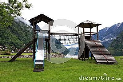 The nation children playground on park
