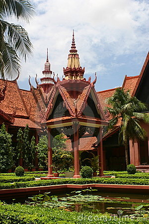 Nationaal museum in Phnom penh