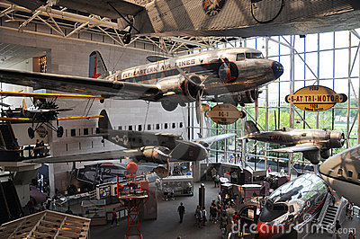National Air and Space Museum in Washington Editorial Image