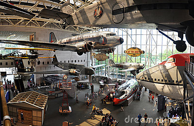 National Air and Space Museum in Washington Editorial Photo