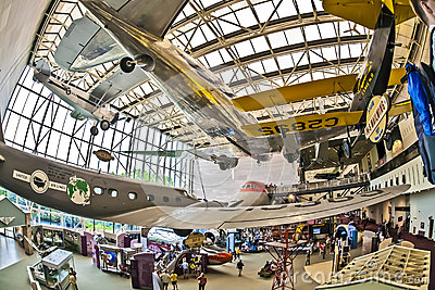 National air and space museum Editorial Stock Image