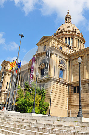 National Art Museum of Catalonia Editorial Image