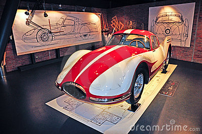 National Automobile Museum in Turin Editorial Image