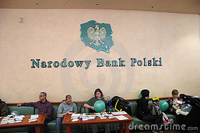 National Bank of Poland Editorial Photography