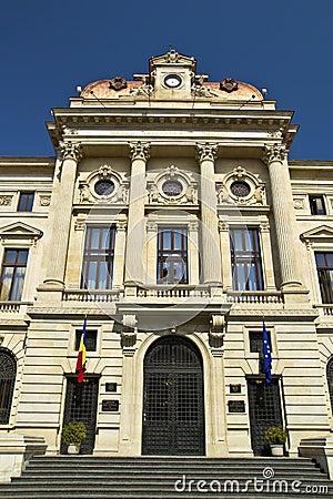 National Bank Of Romania Editorial Stock Image
