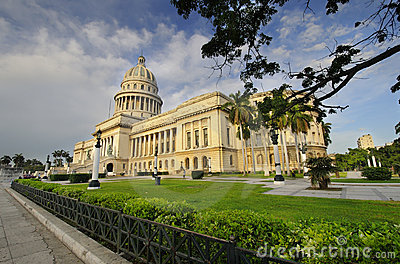National Capitol building. HAVANA - 9 JULY, 2010. Editorial Image