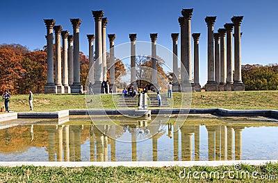 National Capitol Columns Washington DC Editorial Stock Image