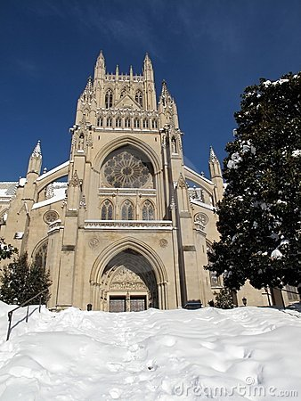 National Cathedral in December