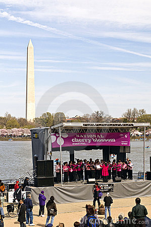 National Cherry Blossom Festival Editorial Photography