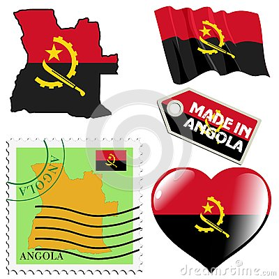 National colours of Angola