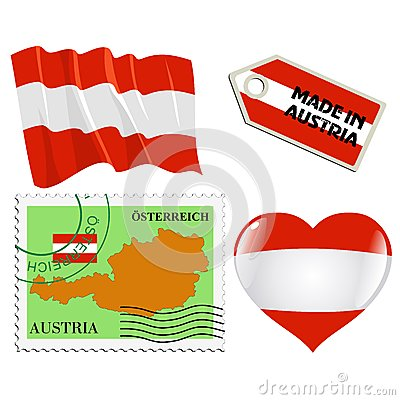 National colours of Austria