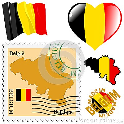 National colours of Belgium