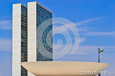 The National Congress Of Brasil