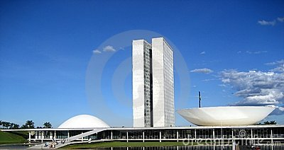 The National Congress of Brazil in Brasilia