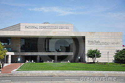 National Constitution Center in Philadelphia Editorial Stock Photo