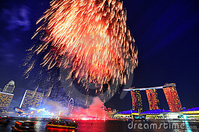 National Day, Singapore Editorial Photography
