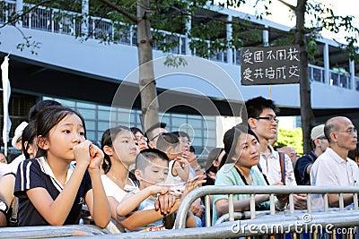 National Education  Raises Furor in Hong Kong Editorial Photography