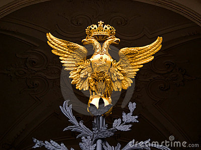 National Emblem of Russia Country
