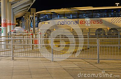 National Express coach station Stansted airport