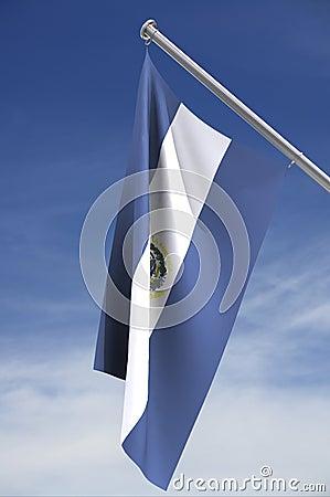 National flag of El Salvador