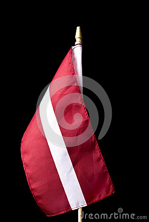 National flag of Latvia