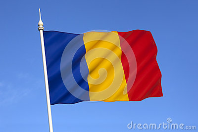 National flag of Romania - Eastern Europe