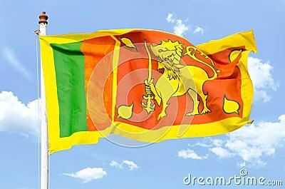 National flag of Sri Lanka