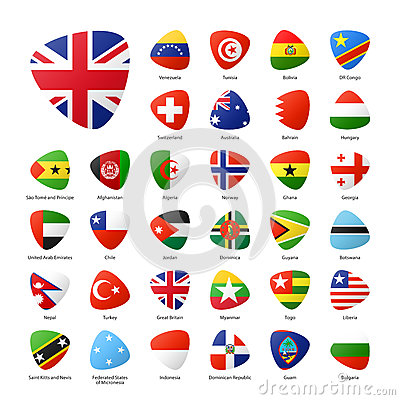 Free National Flags Stock Photography - 74691612