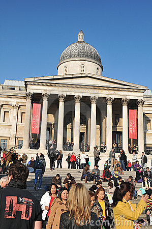 National Gallery, London Editorial Image