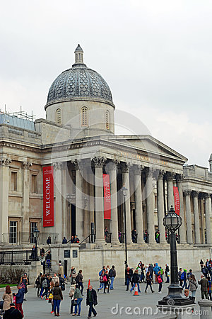The National Gallery London Editorial Image