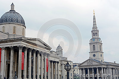 The National Gallery London Editorial Photo