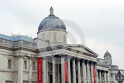 The National Gallery London Editorial Stock Image
