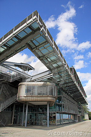 National Glass Centre Walkway