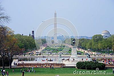 National Mall, Washington DC. Editorial Photography