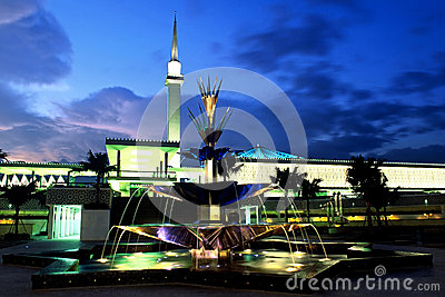 The National Mosque of Malaysia Editorial Photography
