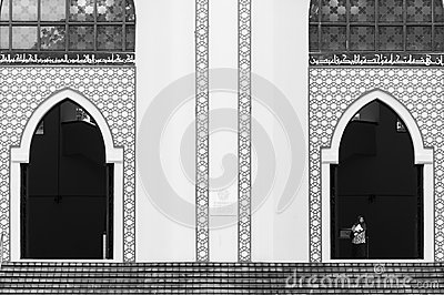 National Mosque of Malaysia Editorial Stock Image
