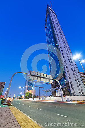 National Oil Company headquarters in Abu Dhabi Editorial Stock Image