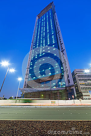 National Oil Company headquarters in Abu Dhabi Editorial Image