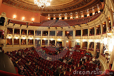 National Opera Bucharest Editorial Image