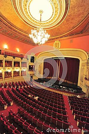 National Opera of Bucharest (hall interior) Editorial Image