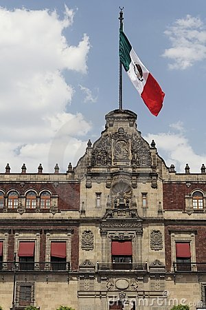 Free National Palace Facade Mexico City Stock Photo - 3024600